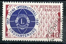 STAMP / TIMBRE FRANCE OBLITERE  N° 1534 LIONS INTERNATIONAL
