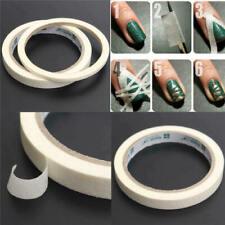 17 M Beauty White Stripe Tape Roll Nail art Edge Guide Tips Sale DIY W4S0