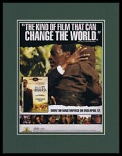 Hotel Rwanda 2005 Framed 11x14 Original Advertisement Don Cheadle