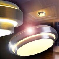 LED Lámpara de techo plafón panel circular pantalla blanca baño salón dormitorio