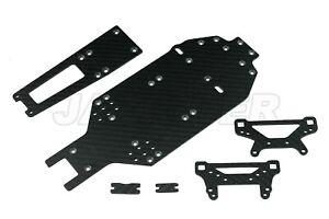 Jazrider Carbon Upgrade Conversion Kit Set For Tamiya TA02/TA02SW RC Car Parts