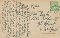 "GB VILLAGE POSTMARKS ""HOTHFIELD"" (ASHFORD, Kent) CDS 24mm 1916 pc HOTHFIELD Hous"