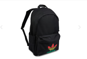 Adidas Rasta backpack school Rare Vintage retro  Marley Jamaica New VTG Bag Bob