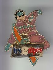 RARE PINS PIN'S .. SPORT HIVER SKI SKIING SNOWBOARD MONOSKI LES 2 ALPES 38 ~C7