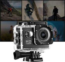 GOPRO CAM 1080P SPORTIVA ACTION CAMERA FULL HD VIDEOCAMERA SUBACQUEA CAM PRO