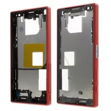 Chasis carcasa trasera marco Sony Xperia Z5 Compact rojo