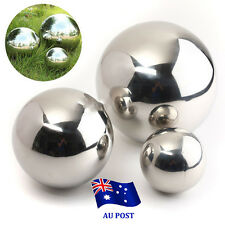Stainless Steel Mirror Sphere Polished Hollow Ball 9/13.8/18cm Garden Ornament B