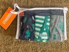 Nwt Gymboree Boys Briefs Underwear St. Patricks Day Irish 3 Pack Medium 7-8
