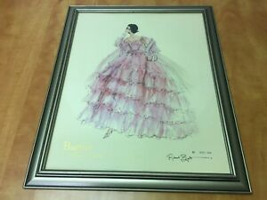 """Robert Best BARBIE Collection Framed Signed Print 515 of 5000 overall 18"""" x 22"""""""