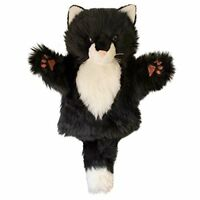 The Puppet Company - CarPets - Black and White Cat Hand Puppet