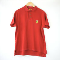 Vintage Ferrari Official 1998 Red Polo Shirt