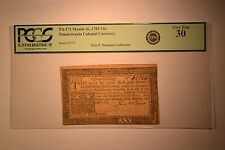 Pennsylvania March 16, 1785 15 Shillings Fr. PA-271. PCGS Very Fine 30.