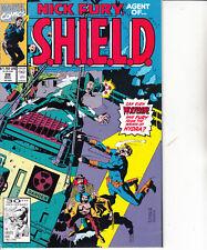 Nick Fury Agent of SHIELD-Issue 29-Marvel Comics  1991-Comic