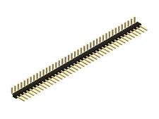 "0.100"" (2.54 mm) Breakaway Male Header: 1×40-Pin, Right Angle"