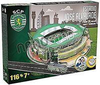 Sporting Lisboa Estadio 3D Puzle Rompecabezas 375mmx 370mmx 85mm ( Kog )