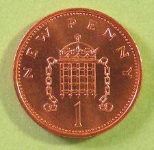 1971 prima una pence moneta a Conio Condizione Menta Fresca di Roll