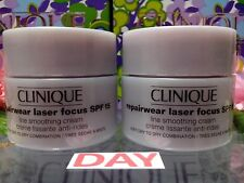 ☾2 PCS☽ Clinique Repairwear Laser Focus SPF15 Line Smoothing Cream ◆T:30ML◆NEWLY