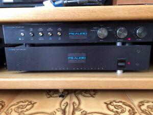 pre e finale audiophile Ps Audio, sistema di amplificazione in 4 telai.