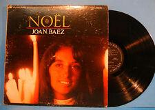 JOAN BAEZ NOEL VINYL LP 1966 ORIGINAL STEREO PRESS CHRISTMAS NICE COND! VG/VG!!A