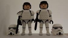 Playmobil talla L - Storm Trooper Captain Star Wars
