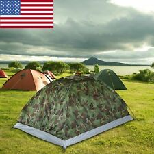 TOMSHOO Camping Tent 2 Person Single Layer Outdoor Waterproof Hiking Survival US