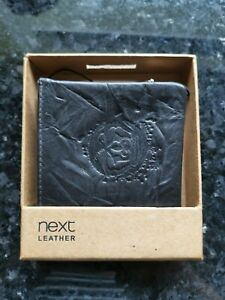 Bnwt Distressed Leather Embossed Wallet By NEXT