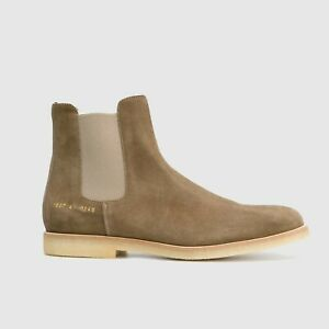 NEW COMMON PROJECTS SUEDE CHELSEA  ANKLE BOOTS HIGH TOP 1897 0240 SIZE 11 US/44