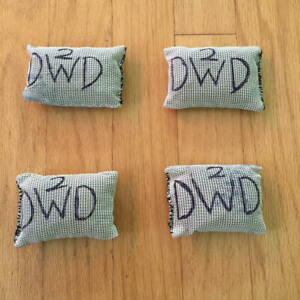 Gently Used Scuba Diving Soft Mesh Lead Shot Weight  Five 3 lb Bags 15 lb total