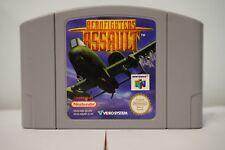 AeroFighters Assault Nintendo 64 game genuine N64 konami cartridge 1998 PAL EUR