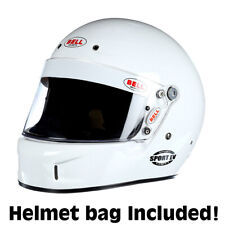 Bell Sport EV Auto Racing Helmet  Large White SA2015  +IN STOCK, SHIPS NOW+