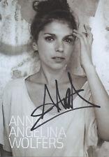 Autogramm - Anna Angelina Wolfers