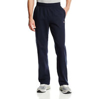 Champion Men's Authentic Open Bottom Jersey Pant, Navy, Small