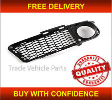 BMW 3 E90 E91 2005-2008 M-TECH FRONT BUMPER GRILLE DRIVER SIDE BLACK NEW