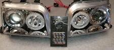 Renault Clio MK1 1991-1995 Chrome Twin Angel Eye Projector Headlights