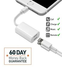 For iPhone 8/8 Plus AUX Adapter and Charge Cable (Headphone+Charger)