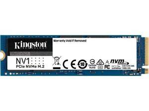 Kingston NV1 1TB M.2 2280 NVMe PCIe Internal SSD Up to 2100 MB/s SNVS/1000G