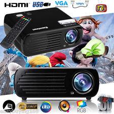 4500 Lumens LED LCD Proyctor Home Cinema 5000:1 3D HDMI USB Projector Multimedia