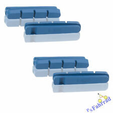 XLC Bremsgummi BS-X01 blau, 55mm, 2 PAAR, für Carbonfelgen Shimano kompatibel