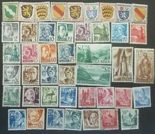 GERMANY -FRENCH OCUPATION ZONE STAMP COLLECTION  1946-1949. USED & UNUSED