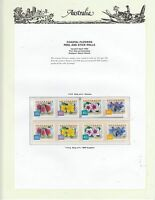 AUSTRALIA COLL. on ILLUS PAGE (PAGE NOT INCLUDED) 1999 Flowers P&S Rolls MUH