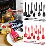 10Pcs/Set Silicone Non-Stick Heat Resistant Kitchen Cooking Baking Best Utensils