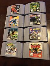 Nintendo 64 Game Lot ( 8 Games) - N64 - No Duplicates - Tested & Authentic