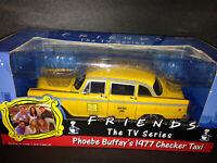 """Phoebe Buffay´s 1977 Checker Taxi aus der TV-Serie """"FRIENDS"""" neu in OVP new 1:18"""