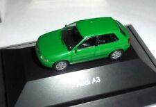 car 1/87 RIETZE AUDI A3 5 DOORS GREEN 2000  -ver/see-