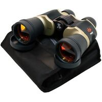 20x60 DAY NIGHT PERRINI OUTDOOR HUNTING BINOCULARS w/Pouch & Lens Covers Camping