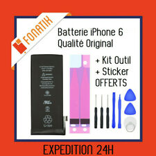 BATTERIE IPHONE 6 INTERNE NEUVE 0 CYCLE 1810 mAh + KIT OUTILS + STICKER OFFERTS!
