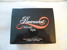 Silver Spa Silver Cleaning Kit New Tabs/Tub/Tongs Jewelry Cleaning Brand New
