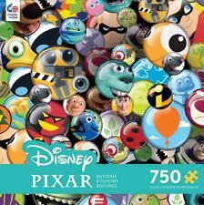 DISNEY JIGSAW PUZZLE PIXAR BUTTONS 750 PCS #2912-2