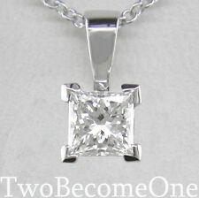 18 Carat White Gold SI1 Fine Diamond Necklaces & Pendants
