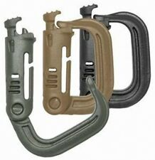 Maxpedition Grimloc D-Rings Carabiner / 4 Pack   KHAKI